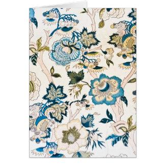 Regency Era Wall Paper Card