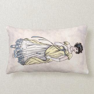 Regency Fashion - Couple #1 - Throw Pillow