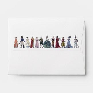 Regency Fashion Envelope (Medium) - for Note Cards
