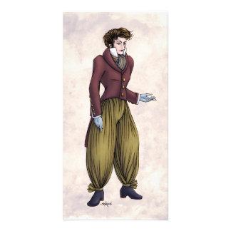 Regency Fashion - Gent #6 - Photocard w/Envelope Photo Card Template
