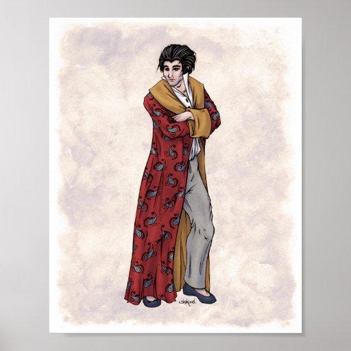 Regency Fashion - Gentleman #2 - 8x10 Art Print