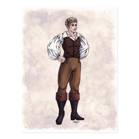 Regency Fashion - Gentleman #5 - Postcard