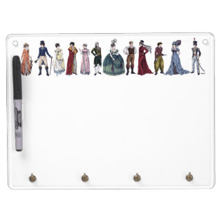 Regency Fashion - Horizontal Whiteboard/Keyholder Dry-Erase Whiteboards