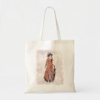 Regency Fashion - Lady #2 - Tote Bag