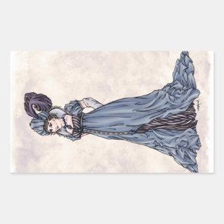 Regency Fashion - Lady #3 - 4 Sticker Sheet