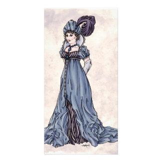 Regency Fashion - Lady #3 - Photocard w/Envelope Photo Greeting Card
