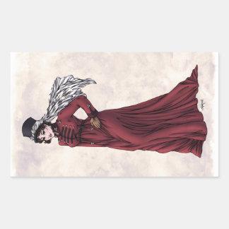 Regency Fashion - Lady #5 - 4 Sticker Sheet