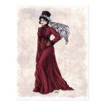Regency Fashion - Lady #5 - Postcard