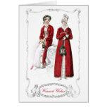 Regency Fashion Plate Christmas Holiday Card