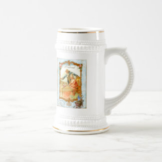 Regency French style Romantic Musical Couple Beer Stein
