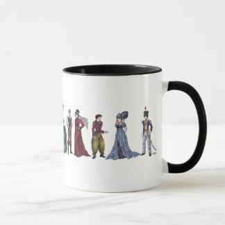 Regency Historical Fashion Jane Austen Mug