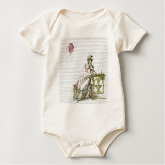 Regency lady  - Zombified! Baby Bodysuit