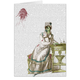 Regency lady  - Zombified! Card