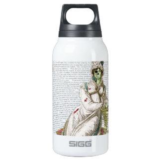 Regency lady  - Zombified! Insulated Water Bottle