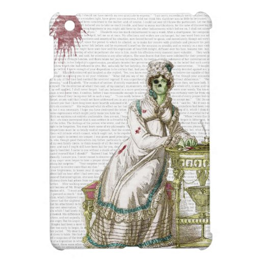 Regency lady  - Zombified! Case For The iPad Mini