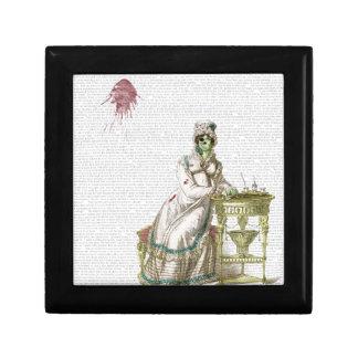 Regency lady  - Zombified! Jewelry Boxes