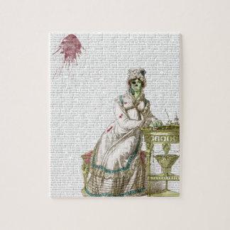 Regency lady  - Zombified! Jigsaw Puzzles