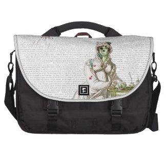 Regency lady  - Zombified! Laptop Computer Bag