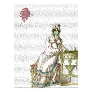 Regency lady  - Zombified! Letterhead