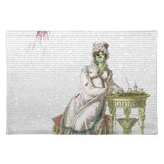 Regency lady  - Zombified! Place Mat
