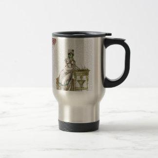 Regency lady  - Zombified! Travel Mug