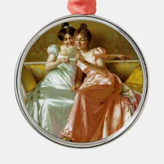 Regency Letter Christmas Ornament