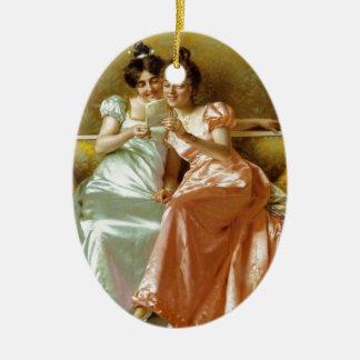 Regency Letter Christmas Ornaments