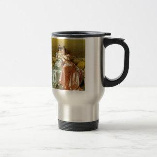 Regency Letter Travel Mug