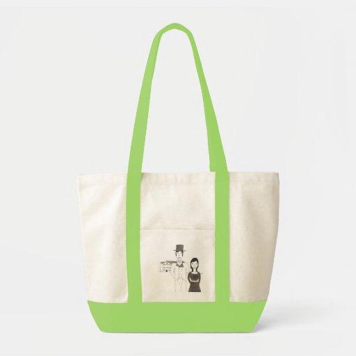 Regency Man and Wife (Time Won't Let Me Go) Impulse Tote Bag