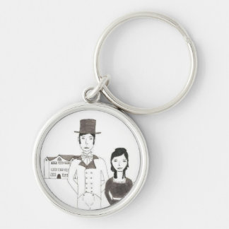 Regency Man and Wife (Time Won't Let Me Go) Keychains