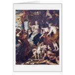 Regency Of Marie De Medici By Peter Paul Rubens Cards