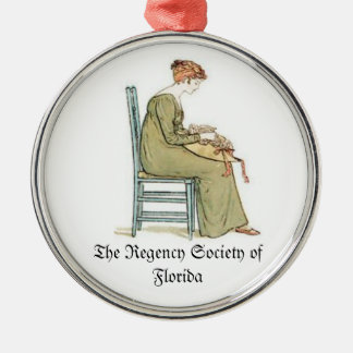 Regency Society of Florida Christmas Ornament