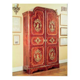 Regency style wardrobe, 1725-30 post card