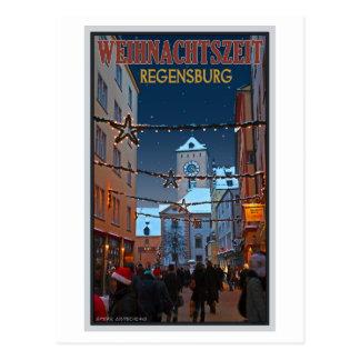 Regensburg Altes Rathaus Postcard