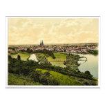 Regensburg, Bavaria, Germany classic Photochrom Post Cards