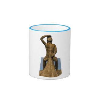 Regensburg Bruckmandl Ringer Coffee Mug