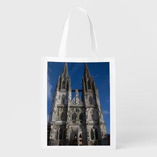 Regensburg Cathedral Grocery Bag
