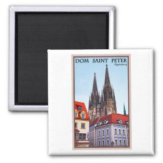 Regensburg - Cathedral St Peter Fridge Magnets