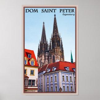 Regensburg - Cathedral St Peter Print