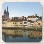 Regensburg, Germany Beverage Coaster