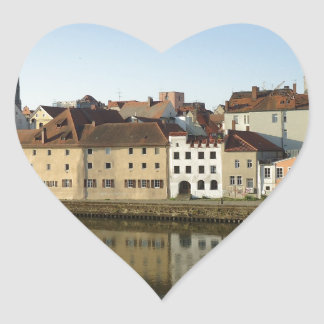 Regensburg, Germany Heart Sticker