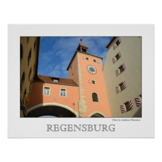 Regensburg, Germany Poster