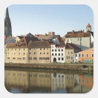 Regensburg, Germany Square Sticker