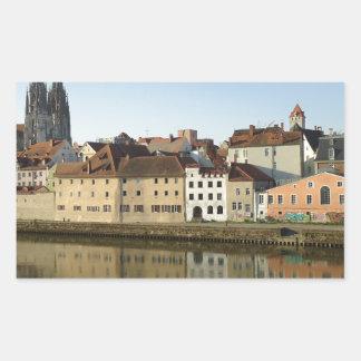 Regensburg, Germany Rectangular Stickers