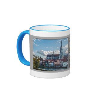 Regensburg Kaffeehaferl Ringer Coffee Mug