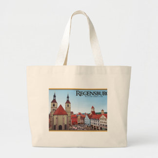Regensburg - Neupfarrkirche Large Tote Bag