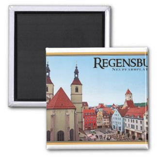 Regensburg - Neupfarrkirche Refrigerator Magnets