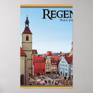 Regensburg - Neupfarrkirche Posters