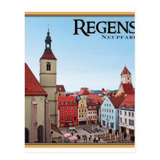 Regensburg - Neupfarrkirche Tarjeta Postal