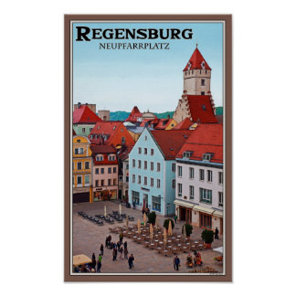 Regensburg - Neupfarrplatz Posters